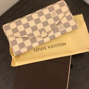 Louis Vuitton Damier Azur Canvas Josephine Wallet